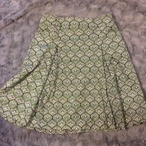 2/$10 Green and black skirt. Sz Medium